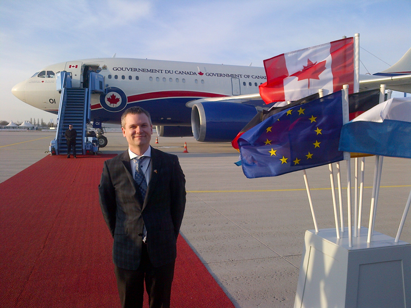 Ben Whitney Air Force One